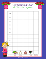 Bilingual Candy and Gift Graphing Charts