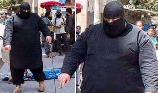 isis giant executioner captured