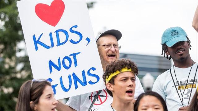 8000 niños son heridos de bala cada año en EEUU