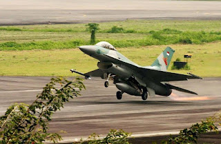 Pesawat Tempur F-16 Fighting Falcon TNI AU