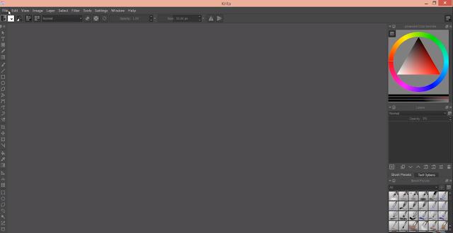 Alternatif Aplikasi Desain Grafis Krita