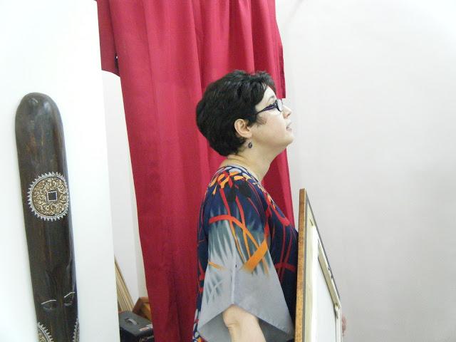Préparatifs de l'expo de l'atelier artémisia 10