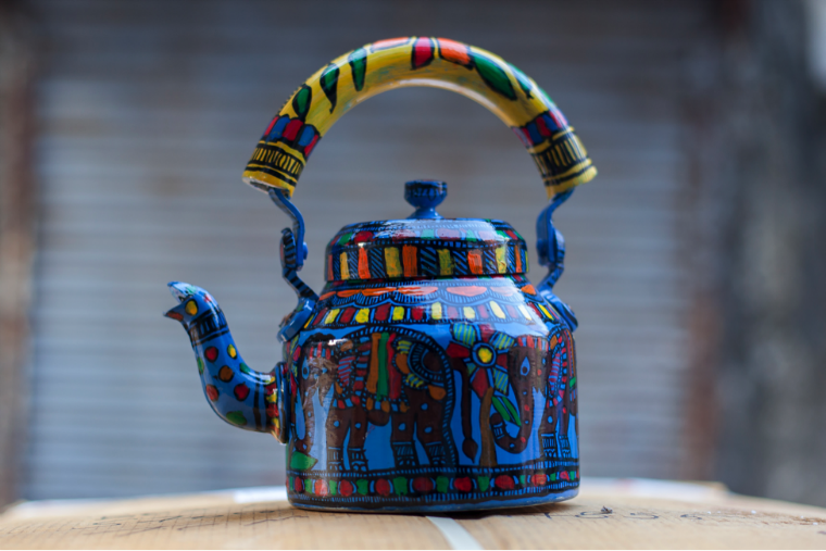 Artisan made teapot from Discovered Marketplace