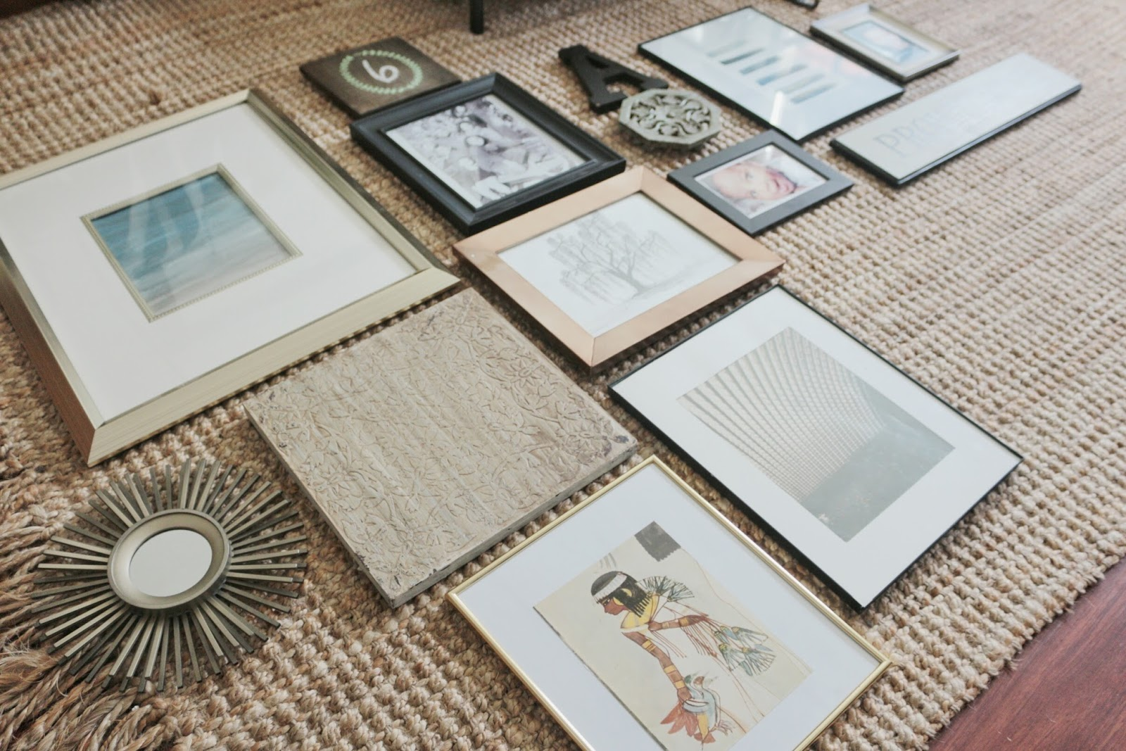 Tools, tips and tricks for an eclectic gallery wall.