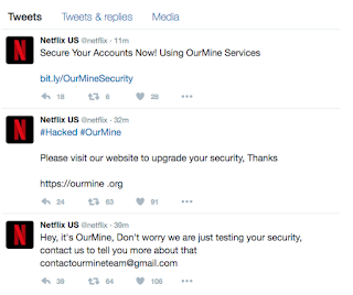 Netflix's Twitter Account hacked, the hackers drop word of advice