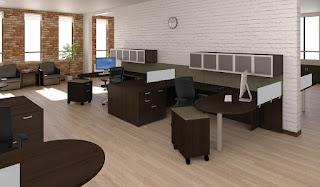 Cherryman Amber Workstations