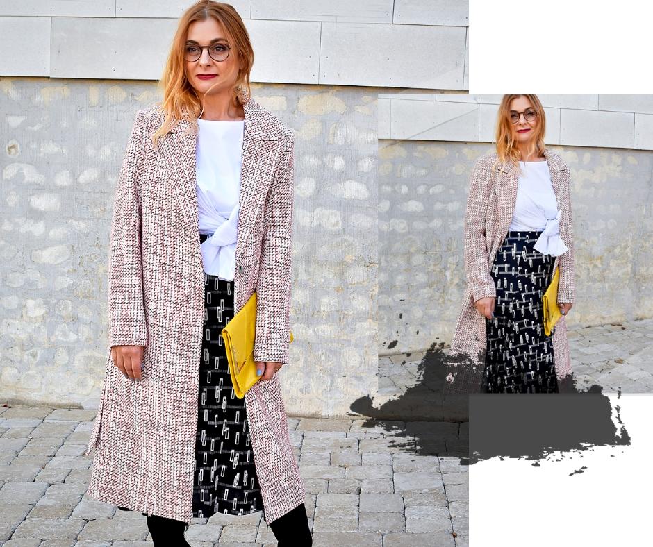 A-Linien Rock in Midilänge kombinieren, Modetipps für Frauen ab 40