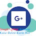 Google+(plus) Account Delete Kaise Karte Hai Step By Step in Hindi Me