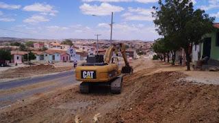 Em Picuí, infraestrutura prossegue com as pavimentações de ruas