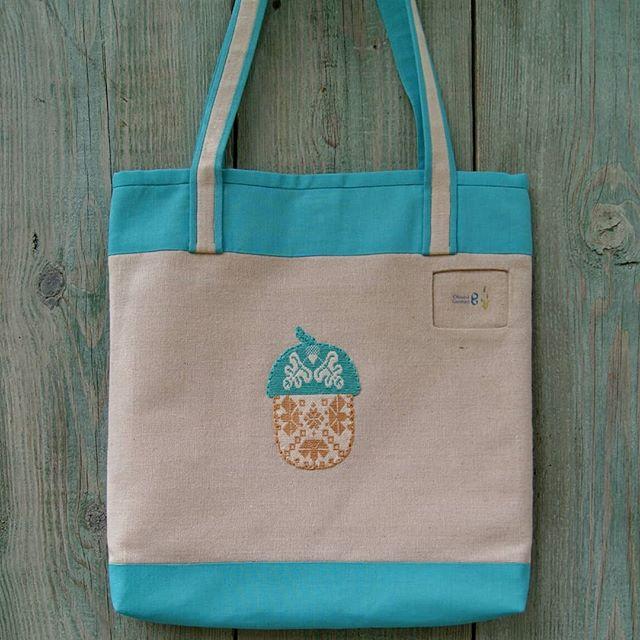 сумка из льна,  сумка ручной работы, сумка с вышивкой, желудь, льняные сумки, сумка шопер, сумка для прогулок, текстильные сумки краснодар