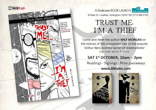 BOOK LAUNCH : Trust Me, I'm a Thief