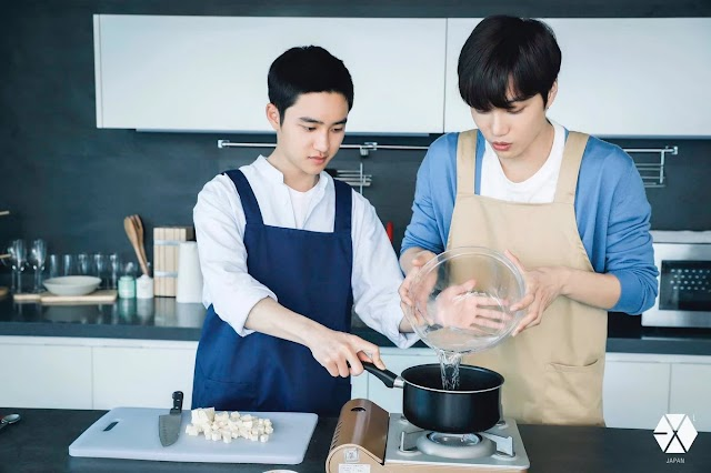 These 5 Male Idols Are Seriously Sexy When They Cook According To One Top Chef