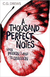 A Thousand Perfect Notes by C.G. Drews [cover image]