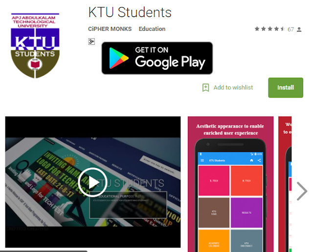 ktu application