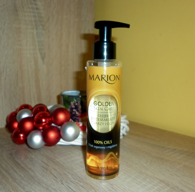 MARION - Golden Skin Care, Olejek do demakijażu twarzy i oczu