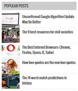 Widget Popular Post Gambar Keren untuk Blogger