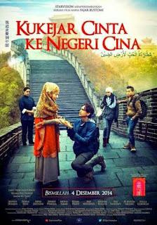 Download Film Kukejar Cinta ke Negeri Cina (2014) WEB-DL