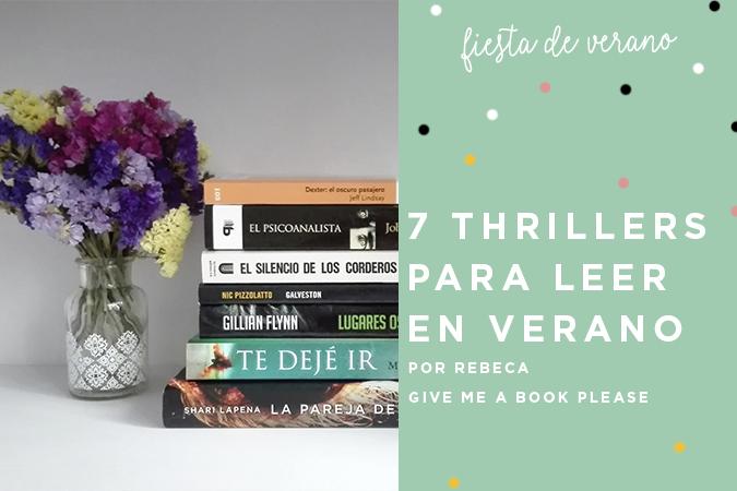 siete thrillers verano