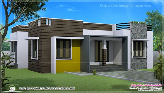 1000 sq-ft home design