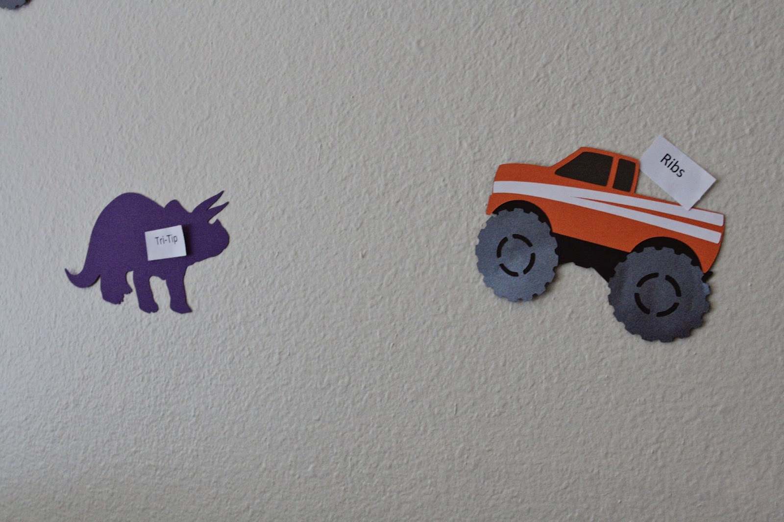 Dinosaurs And Monster Truck Party