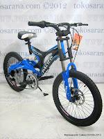 1 Sepeda Gunung Pacific Nitron 6 Speed Shimano 20 Inci