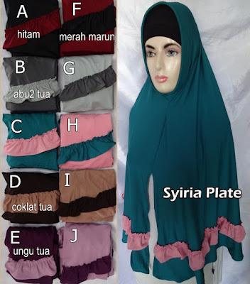 Model Jilbab Terbaru Syiria Plate