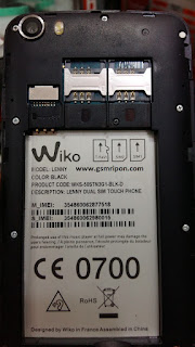 Wiko-Lenny Dead Recovery Frimware 100%tested without password