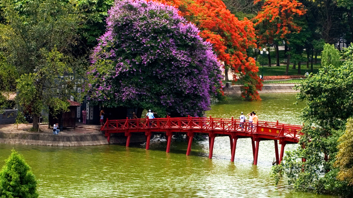 Mùa xuân, mùa thu, mùa hè, mùa đông Hà Nội bắt đầu từ tháng mấy