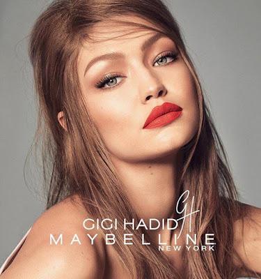 Gigi Hadid x Maybelline Collection