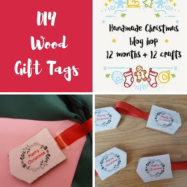 DIY scrap wood gift tags