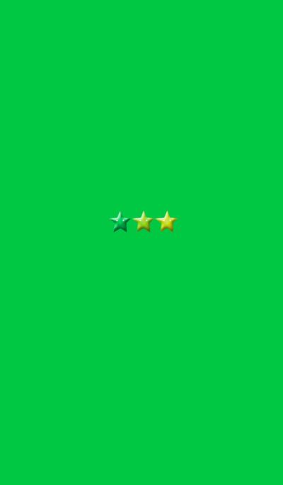 Green Simple 3 Star