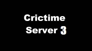 crictime server 3