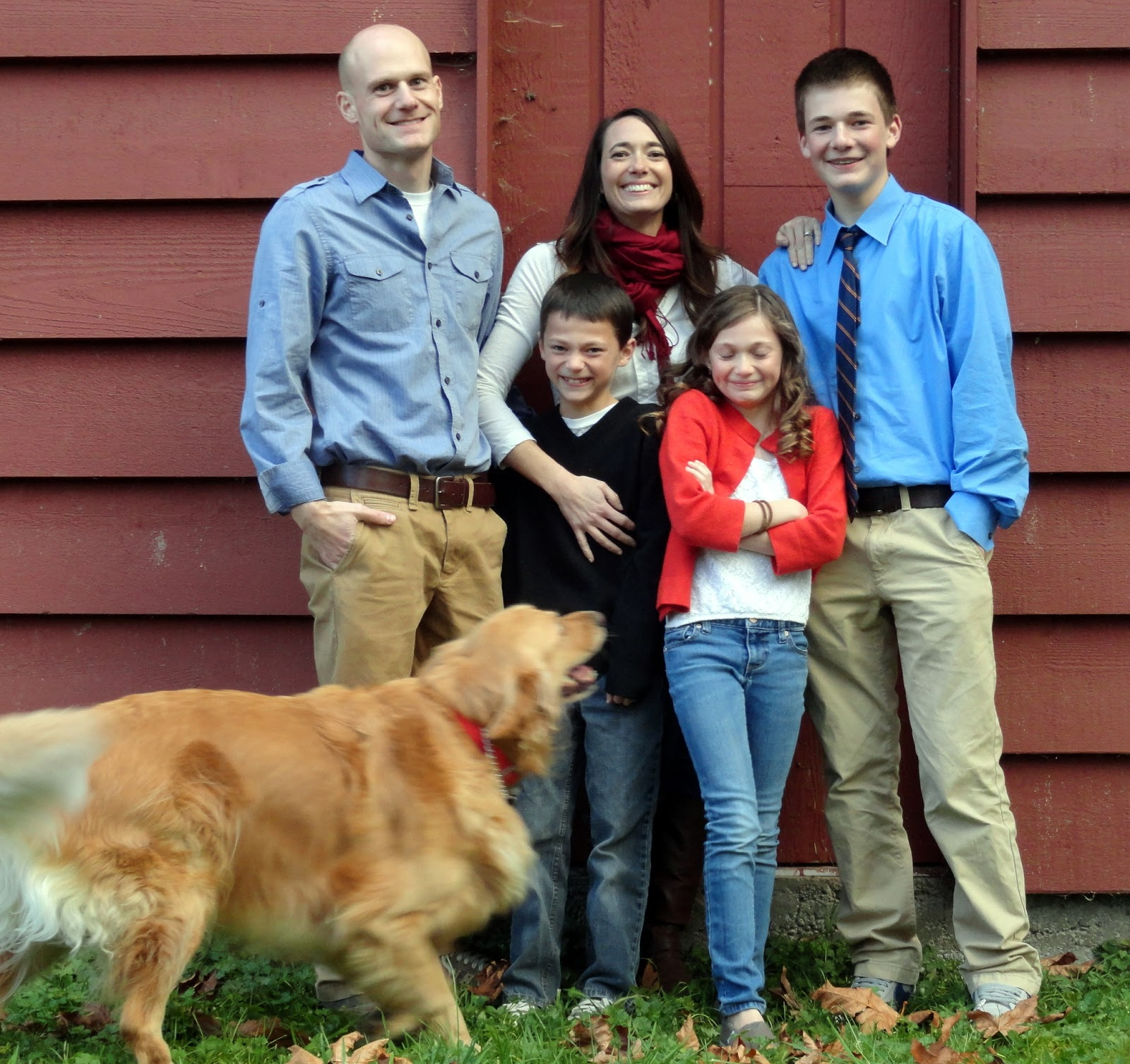 family pictures with dogs