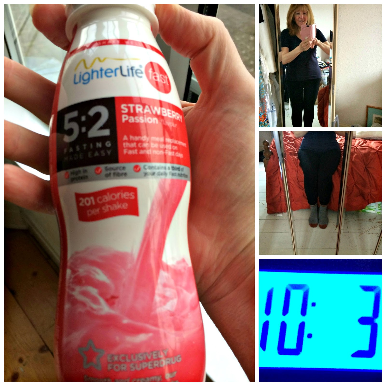 Lighterlife Fast shake & my weight