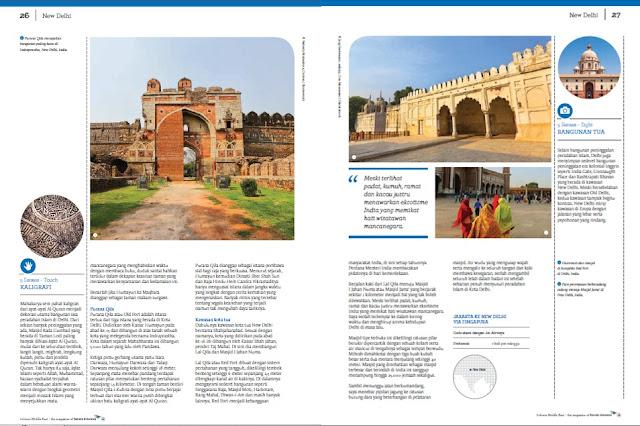 Artikel perjalanan di majalah Colours
