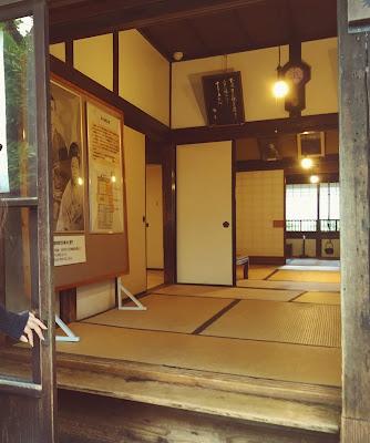 啄木新婚の家 玄関