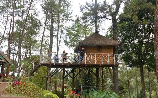 Rumah pohon di GSS desa wisata Gubugklakah