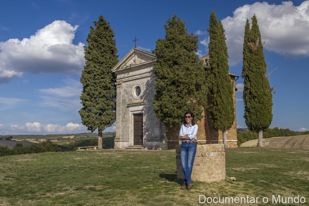 Cappella della Madonna di Vitaleta, Toscana, Itália