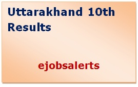 Uttarakhand 10th Results 2017