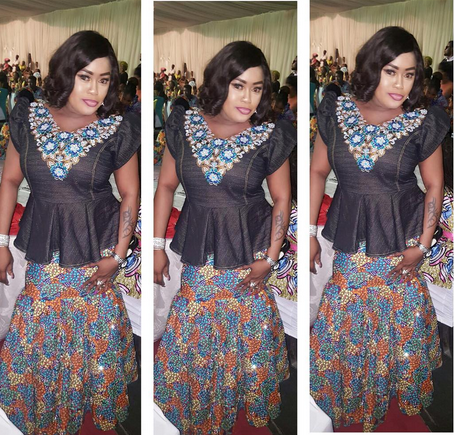 Colorful Photos Mercy Aigbe Mide Funmi Martins Femi Adebayo