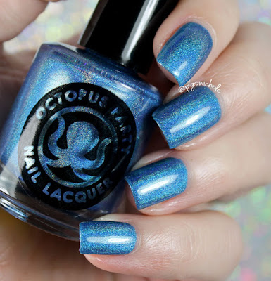 Octopus Party Nail Lacquer Pasta Azul