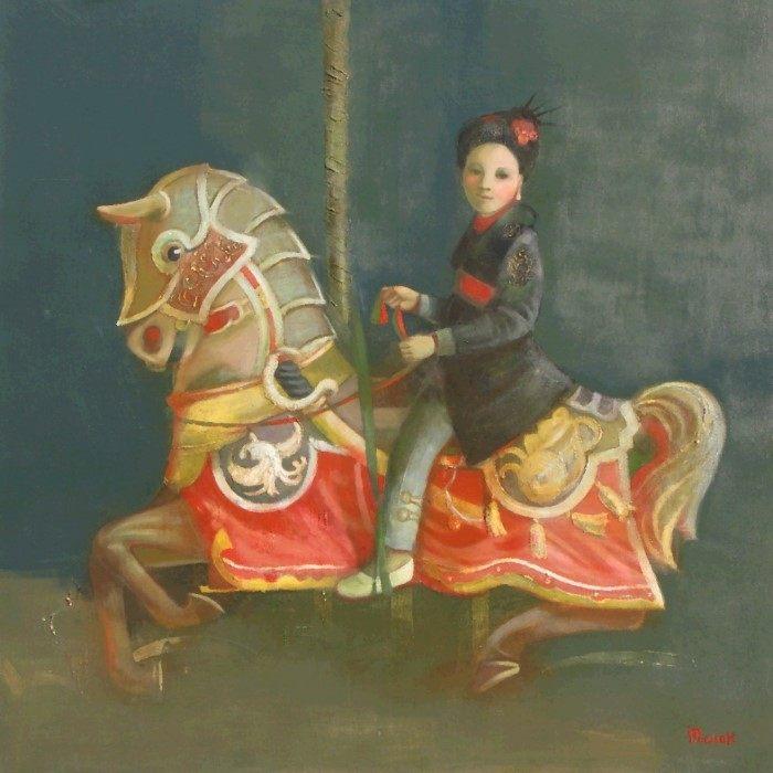 Латвийский художник. Ilze Preisa