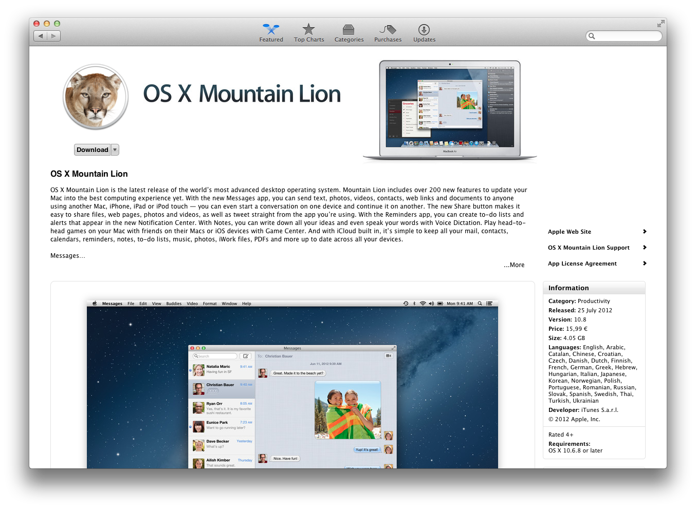 T A  Systems: Apple OS X Mountain Lion 10 8 clean