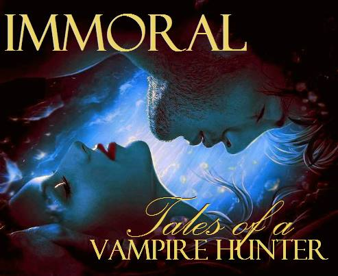 Immoral: Tales of a Vampire Hunter #1 early cover idea