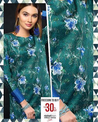Nishat winter dresses