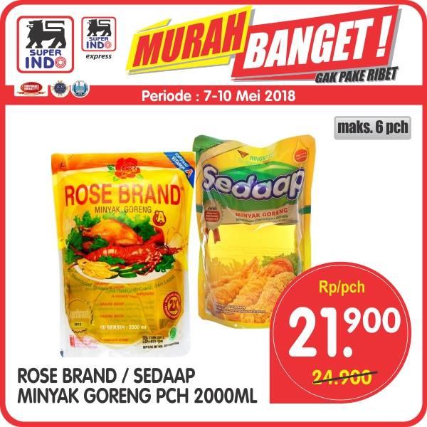 PROMO! Rosebrand / Sedaap Minyak Goreng PCH