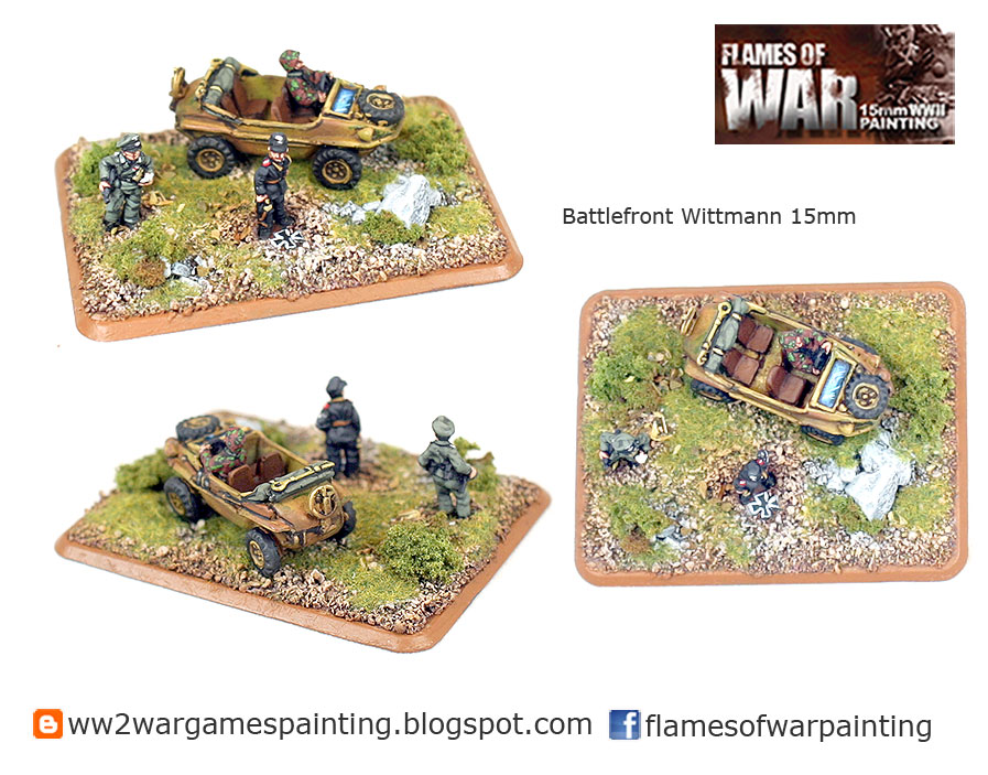 15mm Battlefront Wittmann Painted by Flames of War Painting