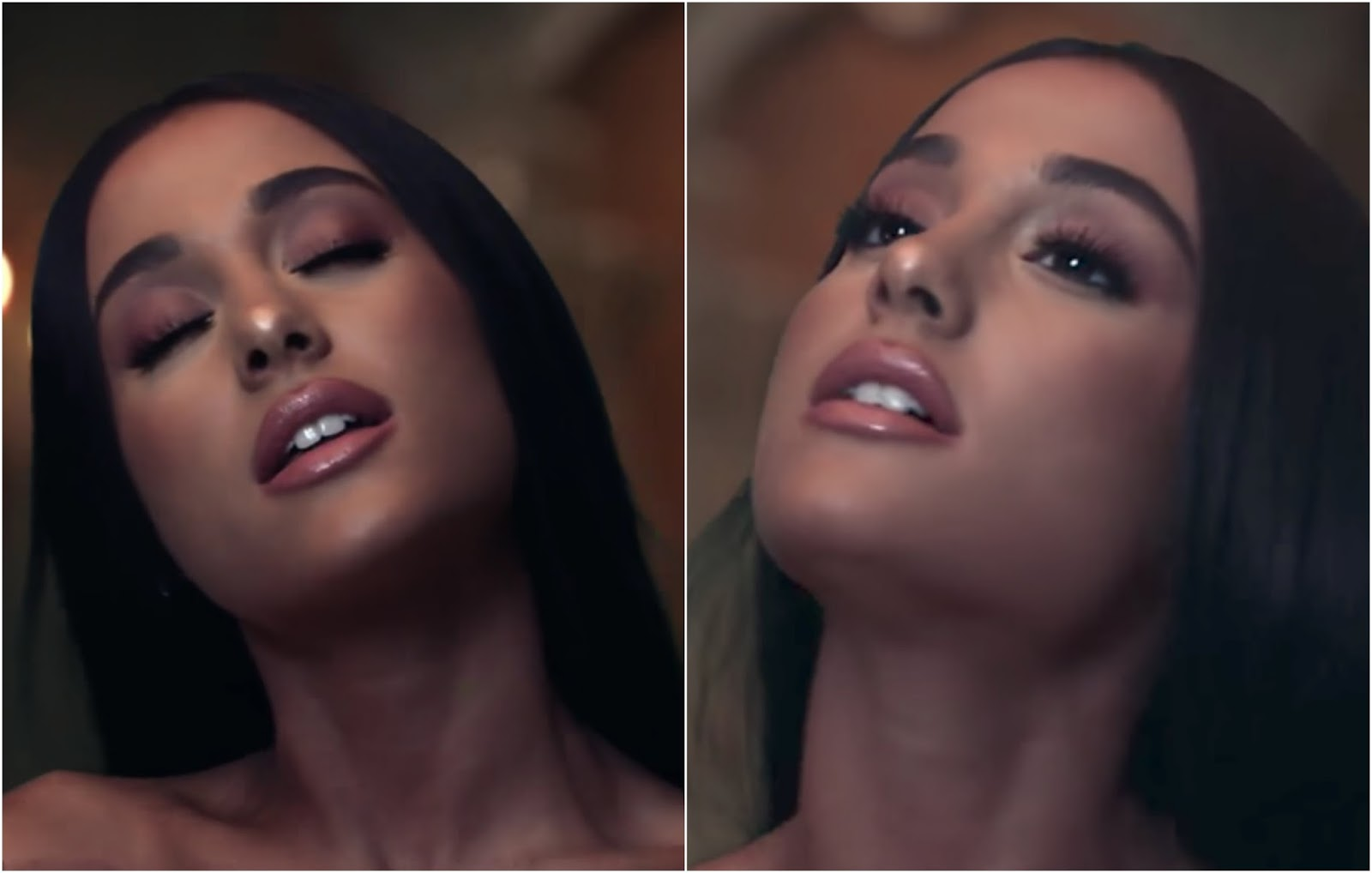 Safiyah tasneem friday fotd ariana grande beauty and the beast these are the only screenshots i could just about capture of the makeup and i feel like in other parts of the video she was just wearing lashes and gloss baditri Image collections