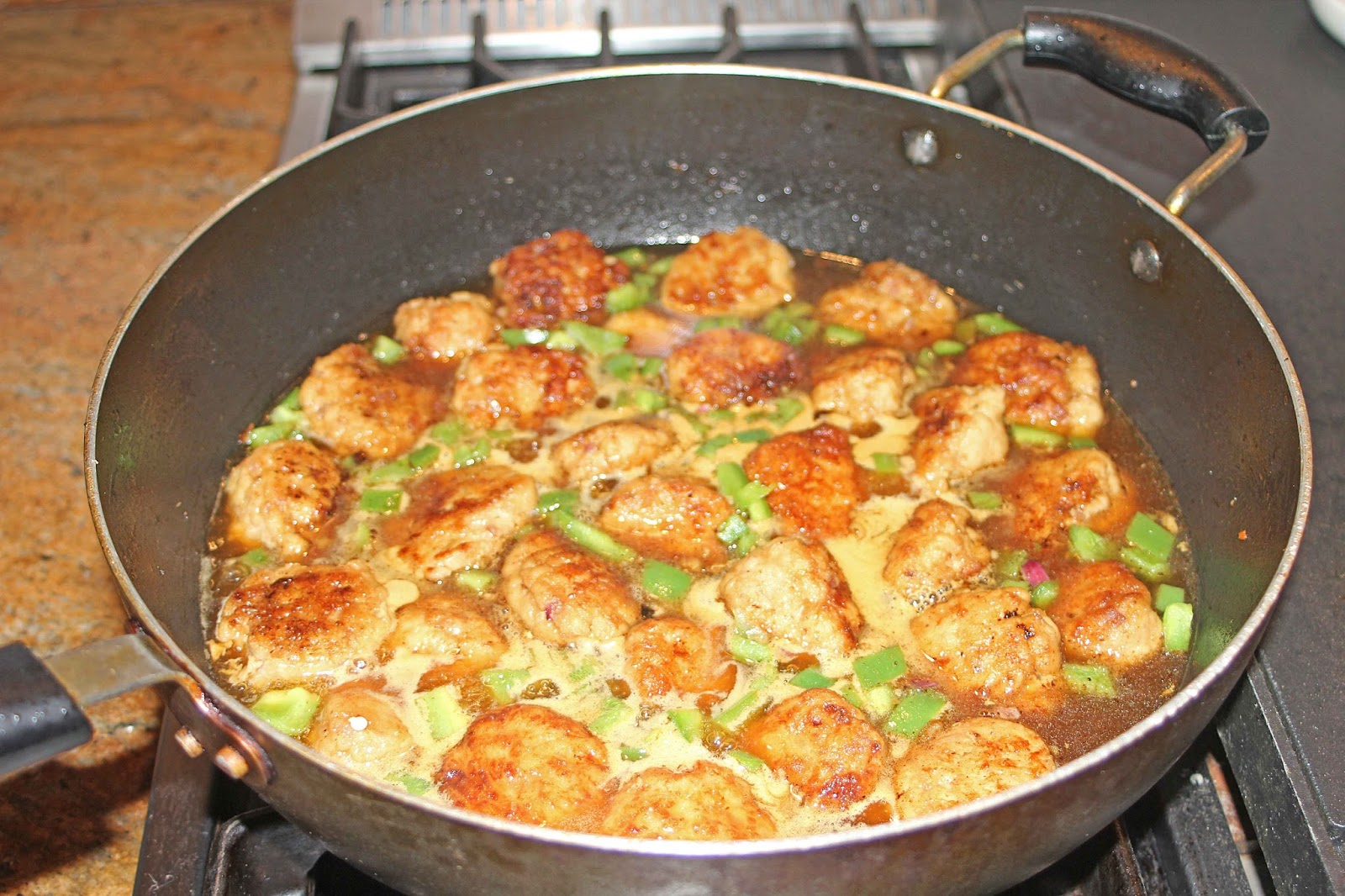 Add The Meat And Continue Cooking Until The Sauce Comes Back Up To A Boil