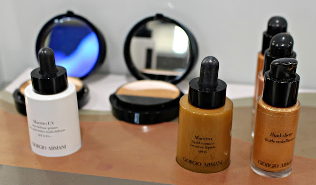 giorgio armani prima skincare and makeup